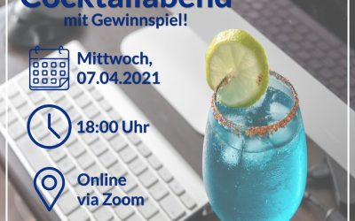 O-Woche SoSe 2021 – Online Cocktailabend am 07.04.